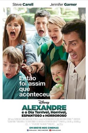 Alexandre e o Dia Terrível, Horrível, Espantoso e Horroroso (Alexander and the Terrible, Horrible, No Good, Very Bad Day)