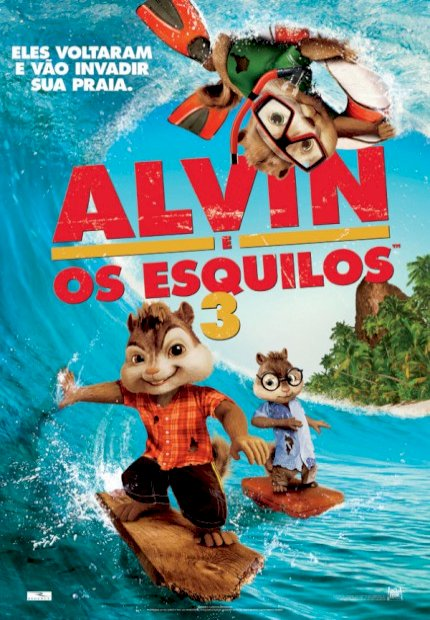 Alvin e os Esquilos 3 (Alvin and The Chipmunks 3D)