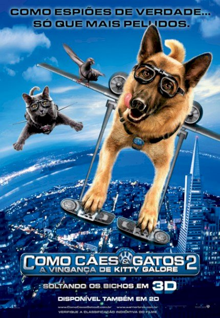 Como Cães e Gatos 2: A Vingança de Kitty Gallore (Cats & Dogs: The Revenge of Kitty Galore)