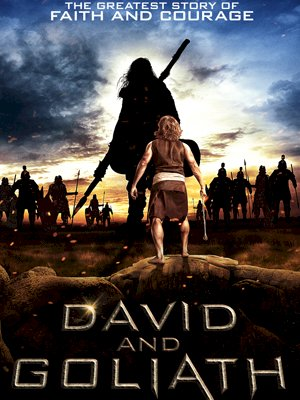 Davi e Golias (David and Goliath)