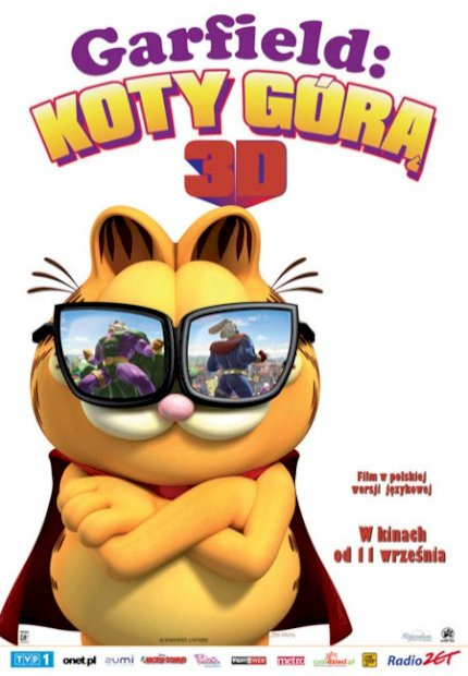 Garfield 3D - Um Super Herói Animal (Garfield´s Pet Force 3D)