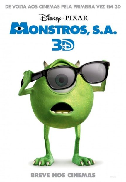 Monstros S.A. 3D (Monsters, Inc 3D)