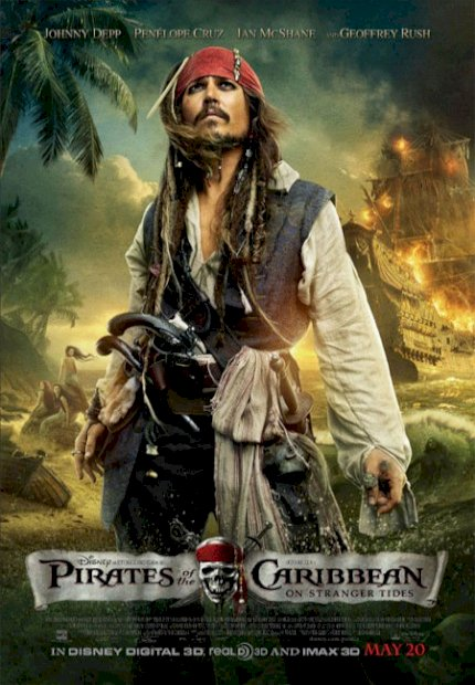 Piratas do Caribe 4: Navegando em Águas Misteriosas (Pirates of the Caribbean: On Stranger Tides)