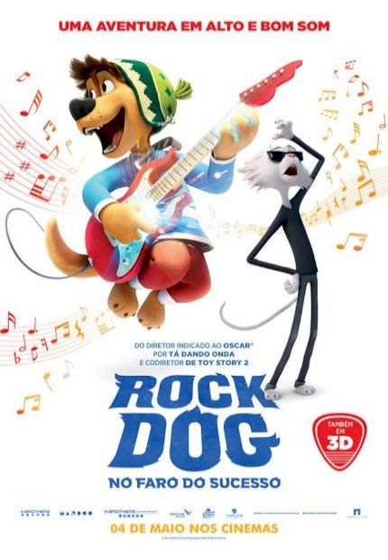 Rock Dog - No Faro do Sucesso (Rock Dog)