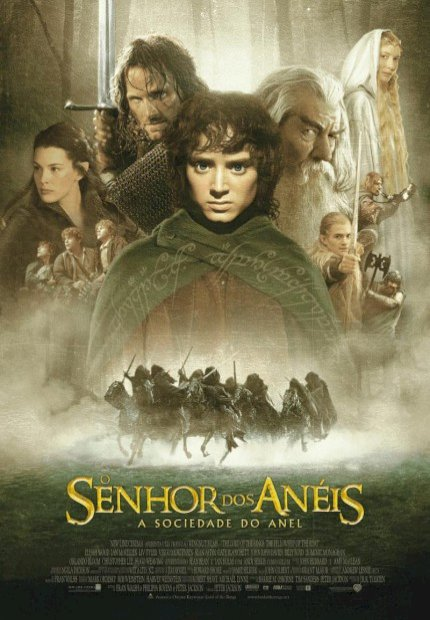 Senhor dos Anéis - A Sociedade do Anel (Lord Of The Rings - Fellowship of the Ring)