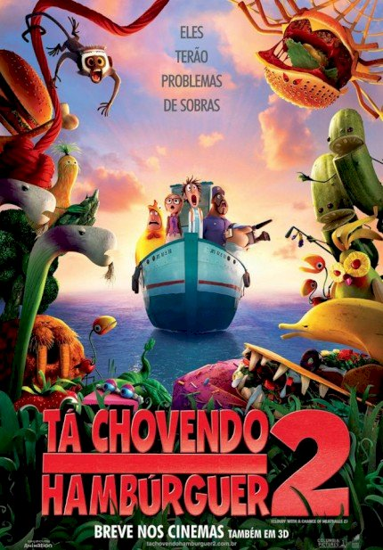 Tá Chovendo Hambúrguer 2 (Cloudy 2: Revenge of the Leftovers)