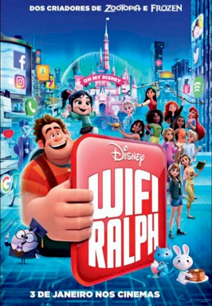 WiFi Ralph - Quebrando a Internet (Ralph Breaks the Internet)