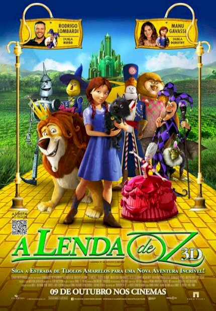 A Lenda de Oz (Legends of Oz: Dorothy's Return)