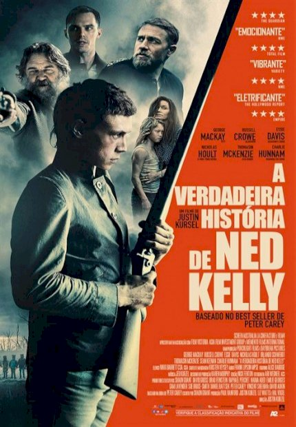 A Verdadeira História de Ned Kelly (True History of the Kelly Gang)