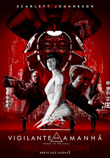 A Vigilante do Amanhã: Ghost In The Shell (Ghost In The Shell)
