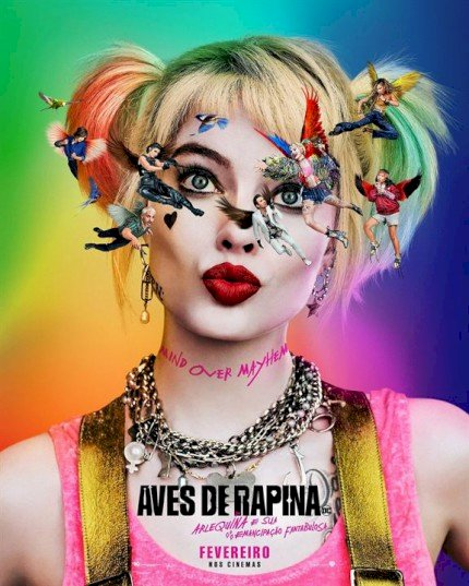 Arlequina em Aves de Rapina (Birds of Prey (And the Fantabulous Emancipation of One Harley Quinn))