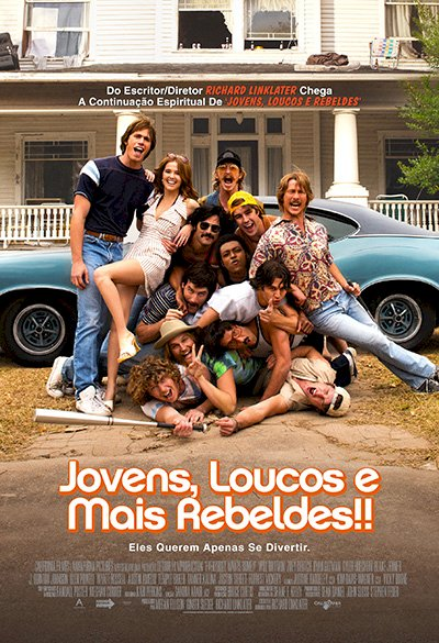 Jovens, Loucos e Mais Rebeldes (Everybody Wants Some !!)