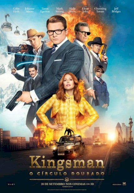Kingsman: O Círculo Dourado (Kingsman: The Golden Circle)
