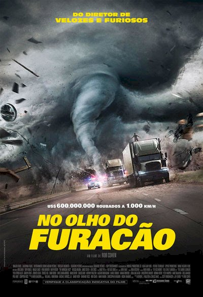 No Olho do Furacão (The Hurricane Heist)