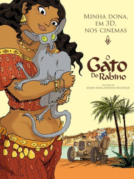 O Gato do Rabino (Le Chat du Rabbin)