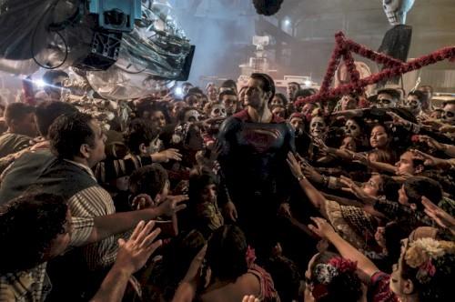 Diretor de fotografia mostra bastidores da luta entre Superman e Apocalypse