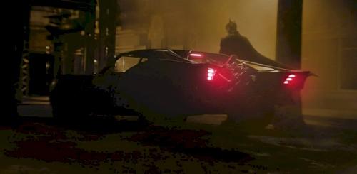 Imagens do novo batmóvel de The Batman