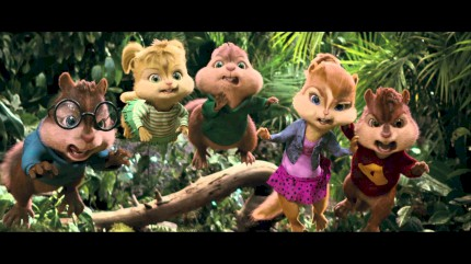 Alvin e os Esquilos 3 (Alvin and The Chipmunks 3D) - Trailer Dublado
